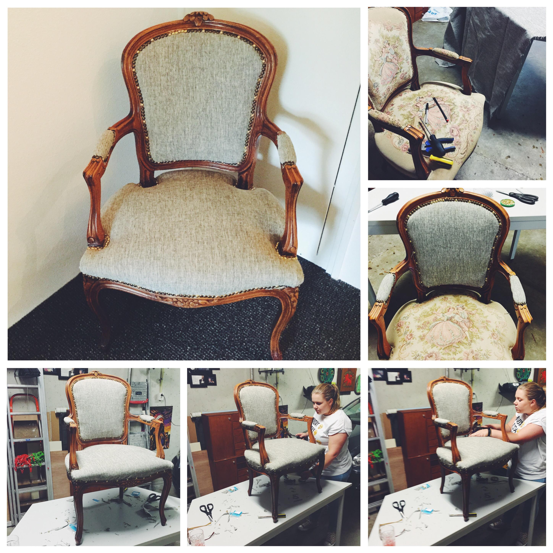 New Project – zelf een stoel opnieuw bekleden – Jodies Style #XU42